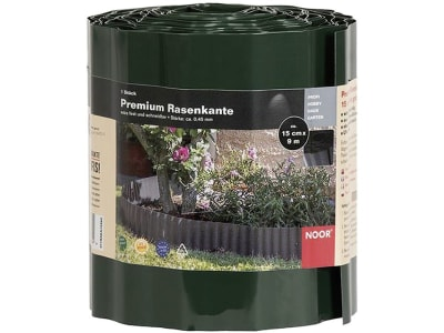 NOOR Rasenkante Premium grün 0,15 x 9 m