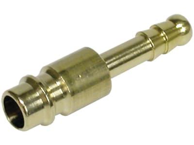 Druckluftstecker mit Tülle, NW 7,2 mm