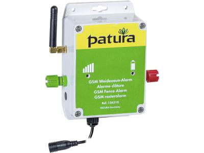 """Patura Weidezaunalarm """"GSM"""" für die Rund-um-die Uhr-Überwachung Ihres Weidezaunes per Smartphone/Tablet, 156310"""