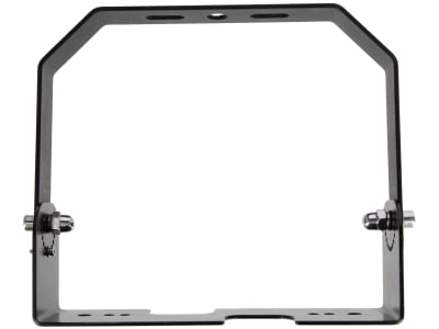 Kerbl Aufhängeset Platte und Bügel für Decken-/Wandmontage für LED-Hallenstrahler, 345802