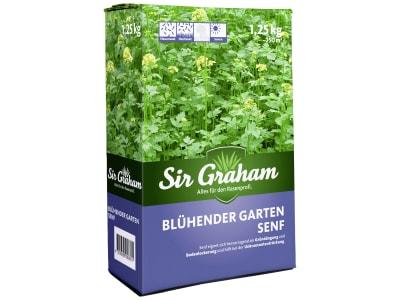 Sir Graham Blühender Garten Senf Saatgut 1,25 kg Karton ausreichend für ca. 250 m²
