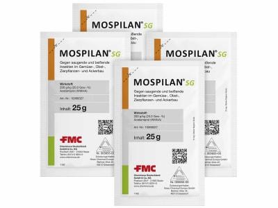 Mospilan® SG Insektizid gegen Blattläuse und Weiße Fliege im Gemüse-, Obst-, Zierpflanzen- und Ackerbau