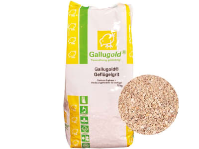 Gallugold® Geflügelgrit Verdauungsförderer Hühnerfutter 5 kg Sack