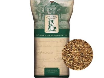 Mühldorfer Scottish Mash & Kräuter schmackhaftes, stoffwechselanregendes Mash für Pferde 15 kg Sack