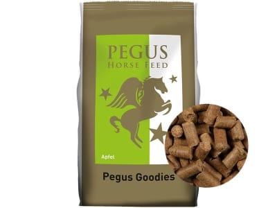 Pegus Goodies Apfel Pferdeleckerlis mit fruchtigem Apfelgeschmack 1 kg Beutel