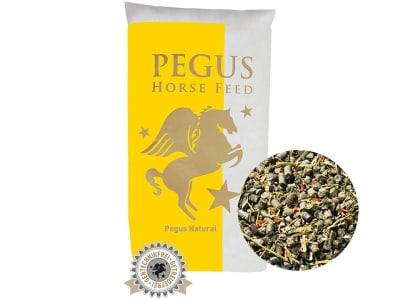 Pegus Natural Müsli getreidefreies, melassefreies, strukturreiches Müsli für Pferde mit Stoffwechselstörungen geeignet 20 kg Sack