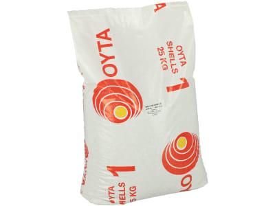 Austernschalen OYTA 1 2-5 mm für Geflügel 25 kg Sack