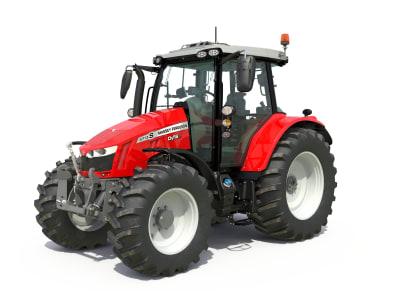 Massey Feguson Traktor MF 5713 S Dyna 6 Efficient