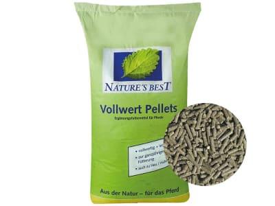 NATURE´S BEST BIO Vollwert Pellets biotaugliches, vollwertiges Basisfutter für alle Pferde 25 kg Sack