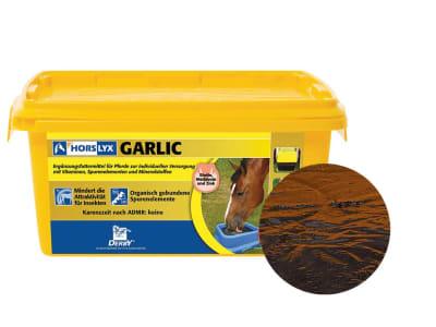 DERBY® Horslyx Garlic Leckmasse mit Knoblauch zur Fliegenabwehr für Pferde