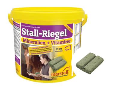 marstall® Stall-Riegel Mineralfutter als Riegel für Pferde