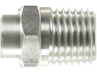 """HD-Düse 1/4"""" AG BSP, Edelstahl, für Flächenreiniger """"Turbodevil TD 300 Basic"""""""