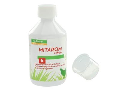 MITAROM Geflügel Bio Hühnerfutter zur Bekämpfung der roten Vogelmilbe 250 ml Flasche