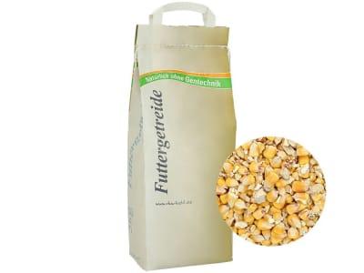 Futtermais ohne Gentechnik Einzelfuttermittel 5 kg Sack GMO controlled (VLOG anerkannt)