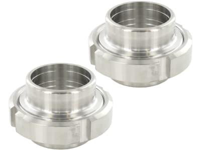 """Verschraubung """"Walz"""" , poliert, Chrom-Nickel-Stahl (Werkstoff 1.4301)"""