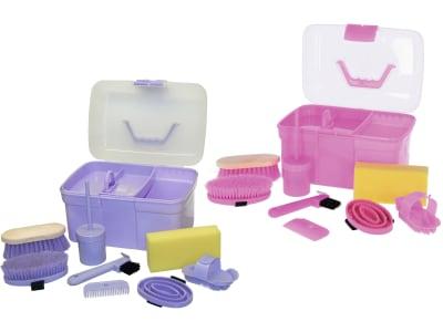Kerbl Putzbox für Kinder 8-teilig