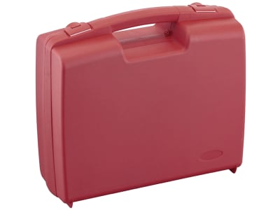 Ekastu Pflanzenschutzkoffer Kunststoff rot, 380 x 300 x 110 mm, ohne Inhalt