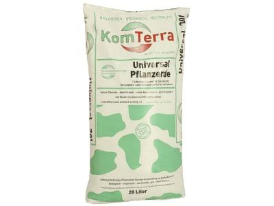 KomTerra Universal Pflanzerde gedüngte organische Spezialerde 20 l Sack