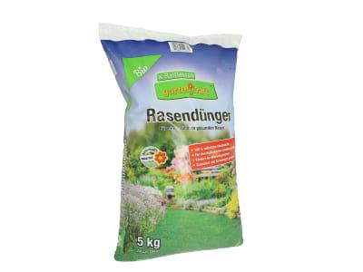 gartenkraft® Bio Rasendünger fein granulierter organischer NPK 6+3+4 Dünger für alle Rasenflächen