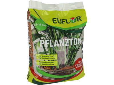 EUFLOR® Pflanzton Blähton, Tongranulat für Hydrokultur und Drainage 10 l Sack