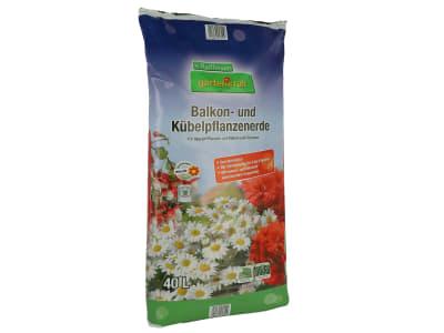 gartenkraft® Balkon- und Kübelpflanzenerde torfreduziert