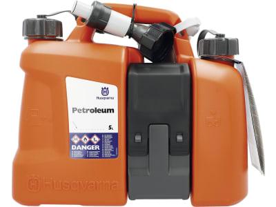 Husqvarna® Kombikanister 5,0/2,5 l orange; schwarz, 5807542-01