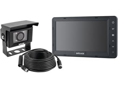 """Brigade® Rückfahrsystem mit Kamera VBV-700C, 7""""-Monitor VBV-770M, 4692C"""
