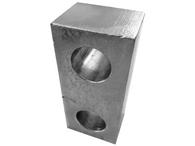 Cramer Zwischenplatte, Abstand 5 mm; 10 mm; 30 mm, L x B x S 93 x 50 x 5/10/30 mm, für Zwangslenkung ZWL50, ZWL30
