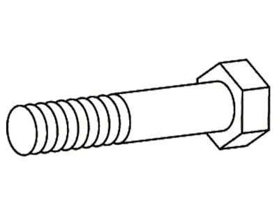 Walterscheid Sechskantschraube DIN 931; ISO 4014 M 10 x 60, für Scherbolzenkupplungen FKB61/20, 1020454