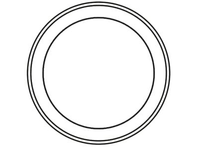 Cramer Zugösenbuchse DIN 11026, 40 x 48 x 30 mm, für Zugösen ZO40 DIN 11026, 8004936