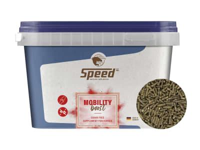 SPEED MOBILITY boost für Pferde zur Unterstützung der Bewegungsfreude mit MSM, Kollagen, Hyaluronsäure und Glucosamin 1,5 kg Eimer
