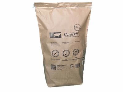floraPell® Schafwolldüngerpellets 6 mm ökologischer Langzeitdünger, NK 12-6 25 kg Sack
