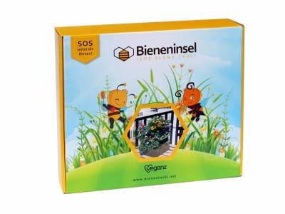 Bieneninsel Set Pflanzkasten  mit Futterpflanzensamen für Bienen 1 St. Karton
