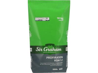 Sir Graham Rasensamen, RSM Profirasen Sport 3.1 RSM 3.1 (ausreichend für 400m²) sehr hohe Rasenqualität und Belastbarkeit (Sportplätze); zur Neuansaat und Nachsaat geeignet 10 kg Sack