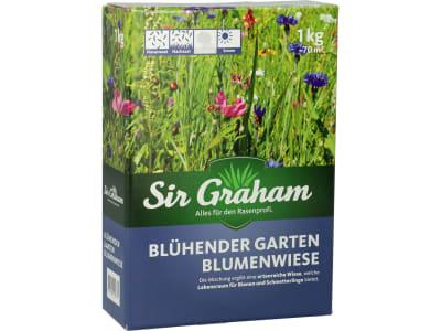 Sir Graham Blühender Garten Blumenwiese Saatgut 1 kg Karton ausreichend für ca. 70 m²