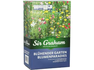 Sir Graham Blumenparadies Veitshöchheimer  Sommerblumenmischung Sommertöne mit Ansaathilfe Saatgut