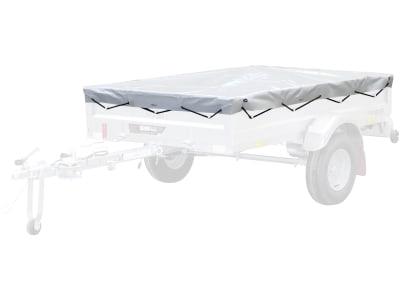 """Pongratz Flachplane mit eingezogenen Gummibändern, für PKW-Anhänger """"Pongami PFA 185 U"""", 21870"""