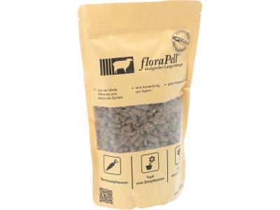 floraPell® Schafwolldüngerpellets 6 mm ökologischer Langzeitdünger, NK 12-6 450 g Beutel