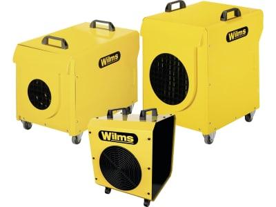 "Wilms Elektroheizer ""EL"" 400 V mit Axiallüfter"