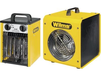 "Wilms Elektroheizer ""EL"" 230 V mit Axiallüfter"