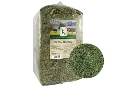 Mühldorfer Bergbauern-Heu aus Bayern erntefrisch verarbeitetes Premium-Heu aus nachhaltiger Produktion für Pferde 10 kg Ballen