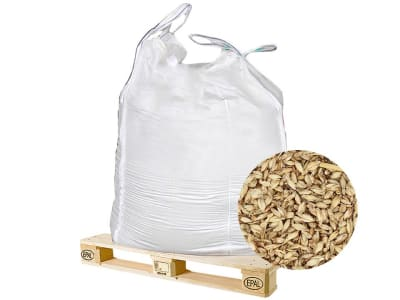 Dinkelstreu Einstreu  naturbelassene Dinkelspelzen als Einstreu für Hühner 170 kg BigBag