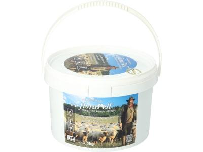 floraPell® Schafwolldüngerpellets 6 mm ökologischer Langzeitdünger, NK 12-6 2,5 kg Eimer