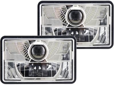 LED-Hauptscheinwerferset links/rechts 10 – 30 V 490 lm; 995 lm, Abblendlicht; Fernlicht, für Frontgrill Traktor Fendt, Fiat, Ford New Holland, Massey Ferguson, Steyr, Case IH