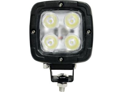 LED-Arbeitsscheinwerfer rechteckig, 4.000 lm, 10 – 30 V, 4 LEDs, für Traktor Deutz-Fahr Agrotron; Fendt Vario, Favorit, Geräteträger; Valtra