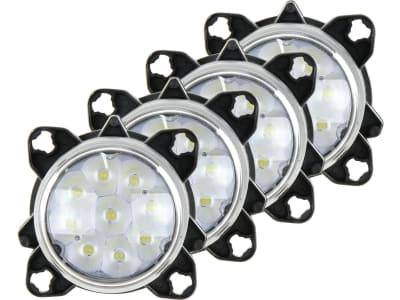 LED-Arbeitsscheinwerferset links/rechts 10 – 30 V 4.050 lm, für Frontgrill Traktor Massey Ferguson MF 5000, 6000, 7000, 8000