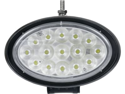 LED-Arbeitsscheinwerfer oval, 4.500 lm, 10 – 30 V, 15 LEDs, für Traktor Massey Ferguson MF 5000, 6000, 7000, 8000