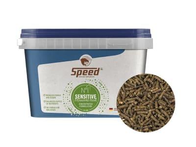 SPEED N° 1 Sensitive speziell für die Bedürfnisse sensibler Pferde konzipiertes, hochkonzentriertes, pelletiertes, melassefreies, getreidefreies Mineralfutter 1,5 kg Eimer