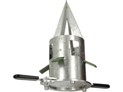 Kerbl Auslaufschieber Metall verzinkt, für Big Bags, 29428
