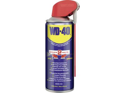 """WD-40® Multifunktionsspray """"Smart Straw™"""" 400 ml, mit flexiblem, klappbaren Kunststoff-Sprührohr, 291185"""
